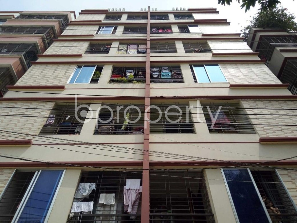 Front view - 2 Bed Apartment for Sale in Mirpur, Dhaka - 1886607