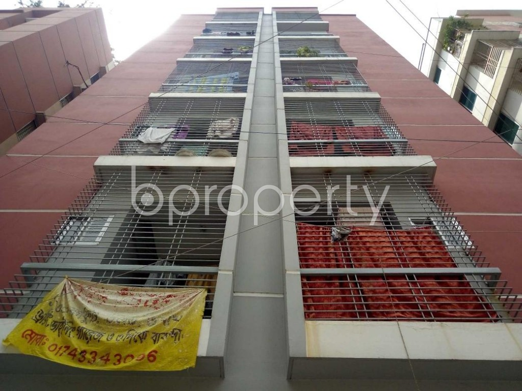 Front view - 3 Bed Apartment for Sale in Mirpur, Dhaka - 1886609