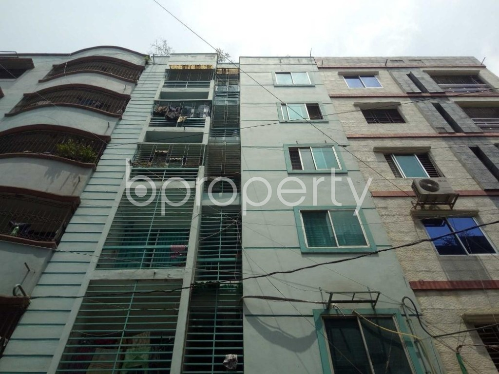Front view - 2 Bed Apartment to Rent in Lalmatia, Dhaka - 1886707