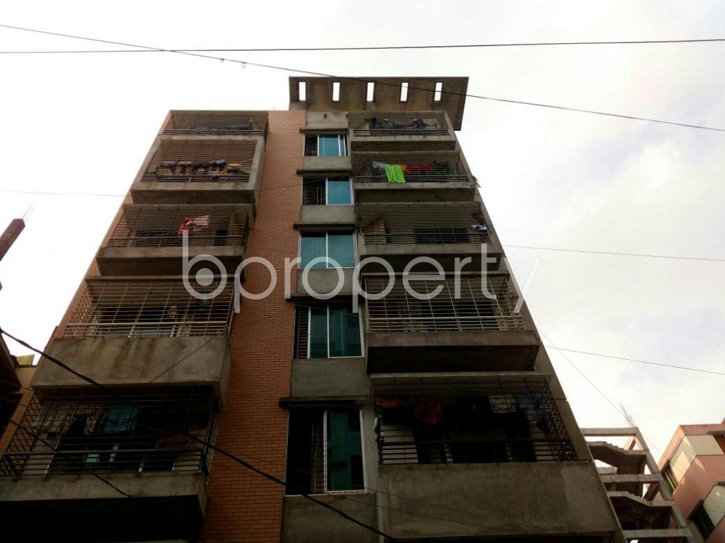Front view - 3 Bed Apartment for Sale in Mirpur, Dhaka - 1886901
