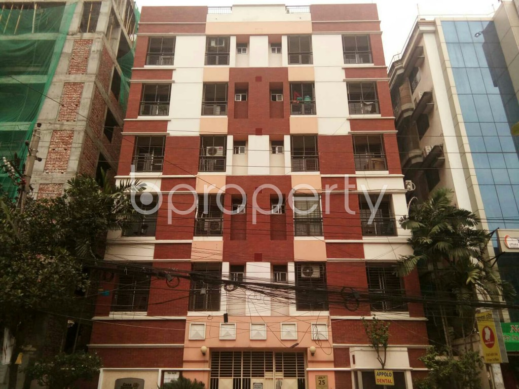 Outside view - 3 Bed Apartment for Sale in Uttara, Dhaka - 1886952