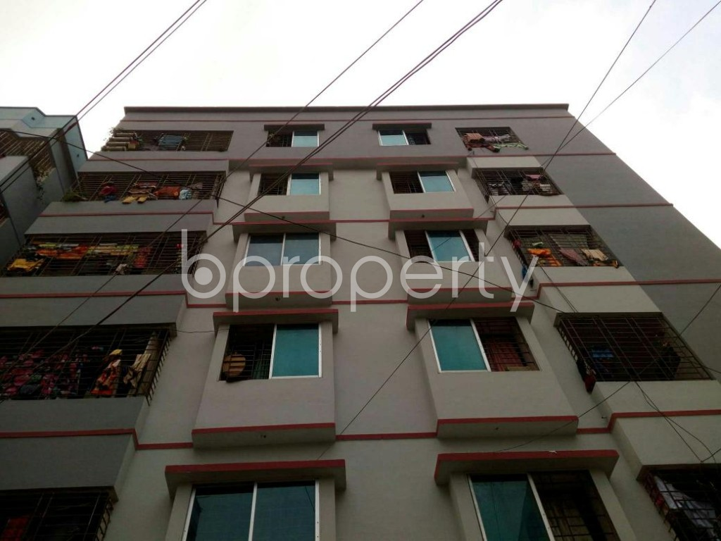 Front view - 3 Bed Apartment for Sale in Mirpur, Dhaka - 1886959