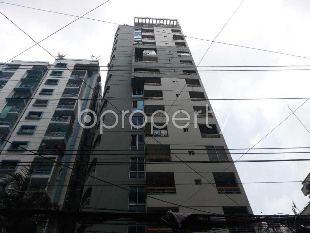 Front view - 3 Bed Apartment for Sale in Shegunbagicha, Dhaka - 1886977