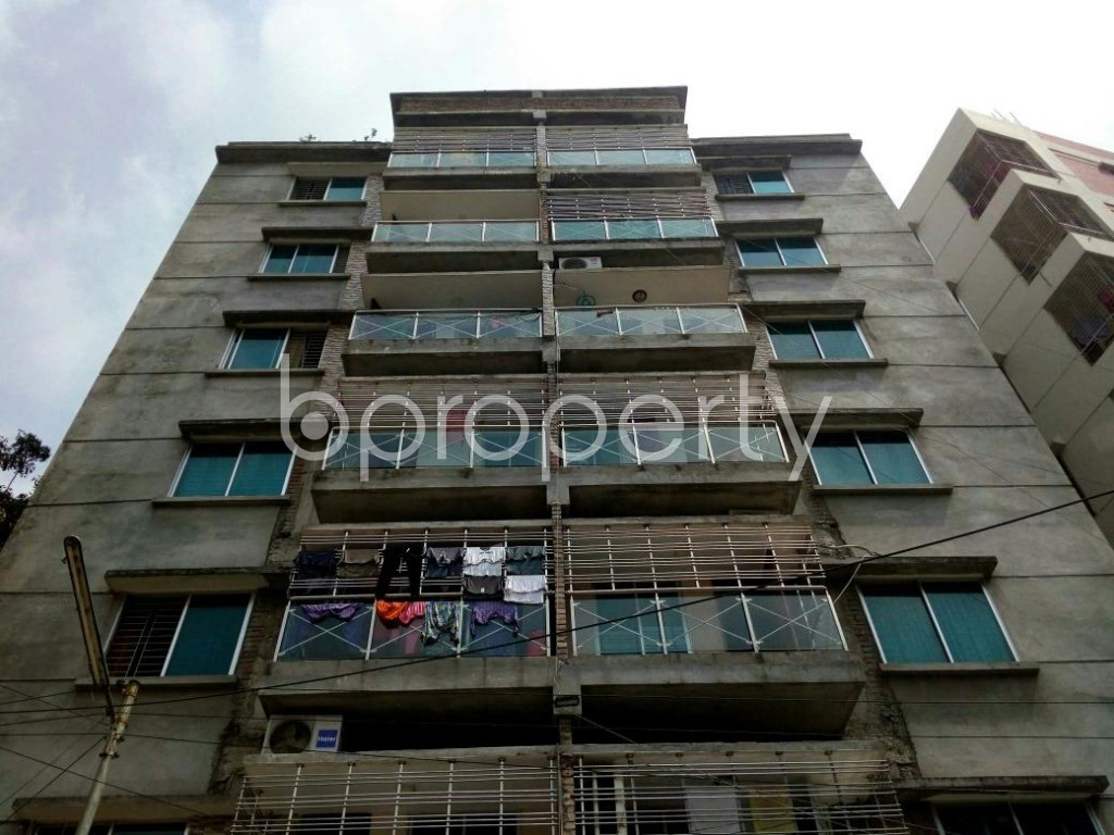 Front view - 3 Bed Apartment for Sale in Mirpur, Dhaka - 1887004