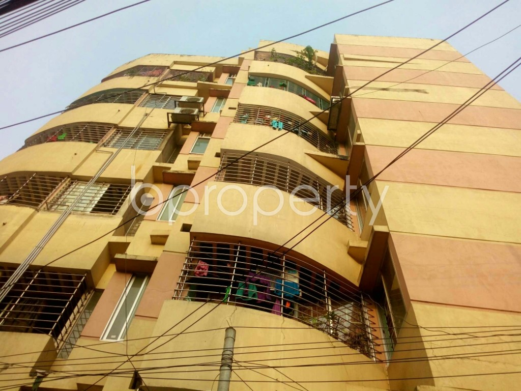 Outside view - 3 Bed Apartment for Sale in East Nasirabad, Chattogram - 1887029