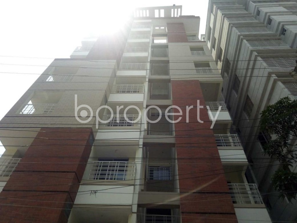 Front view - 3 Bed Apartment for Sale in Mirpur, Dhaka - 1887114