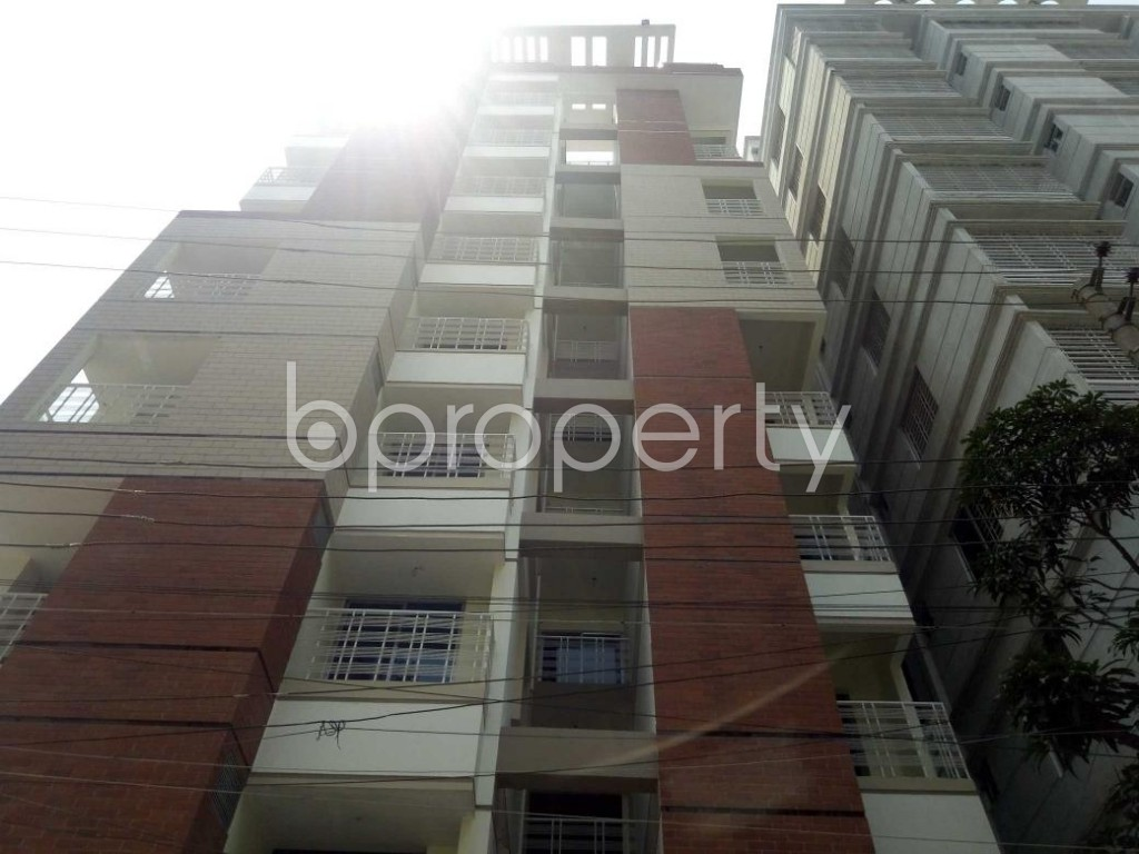 Front view - 3 Bed Apartment for Sale in Mirpur, Dhaka - 1887120