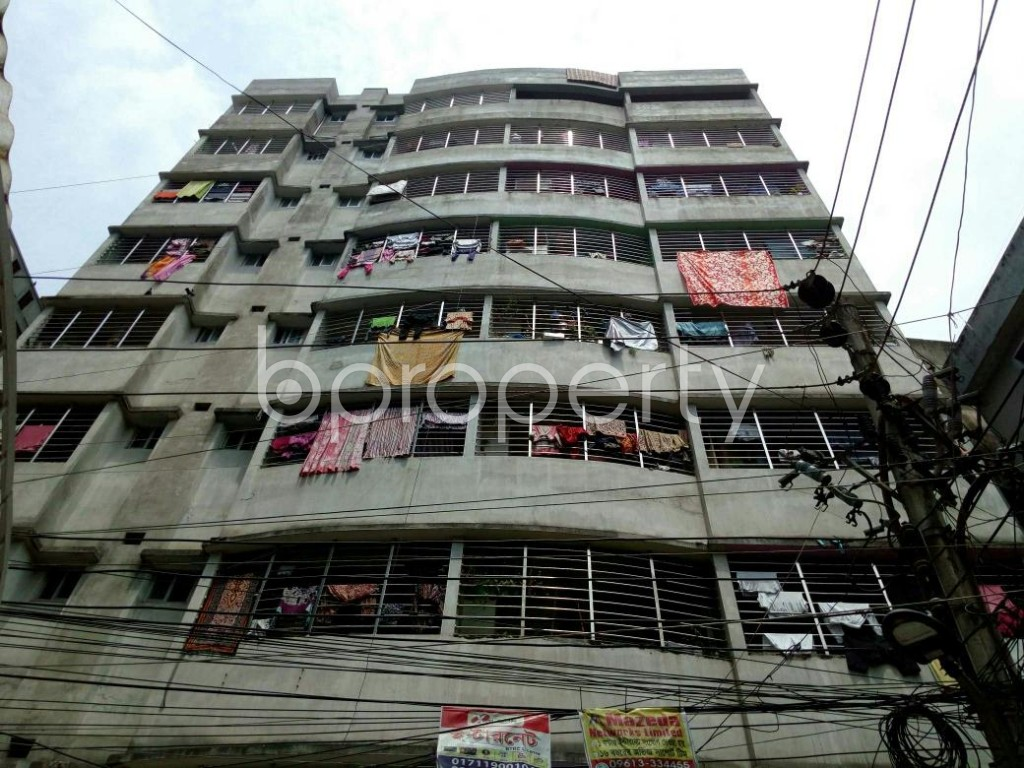 Front view - 3 Bed Apartment for Sale in Dhanmondi, Dhaka - 1887224