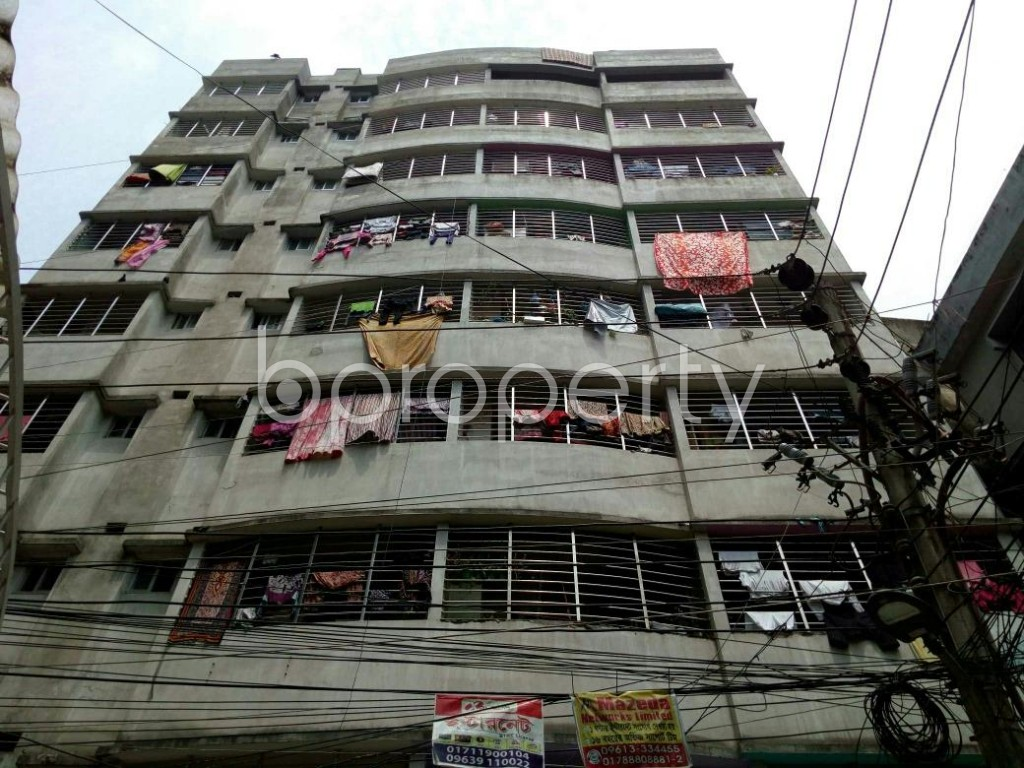 Front view - 3 Bed Apartment for Sale in Dhanmondi, Dhaka - 1887226