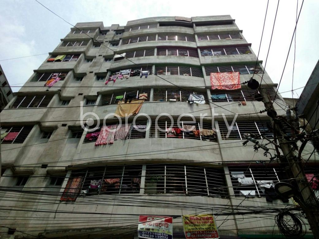 Front view - 3 Bed Apartment for Sale in Dhanmondi, Dhaka - 1887227