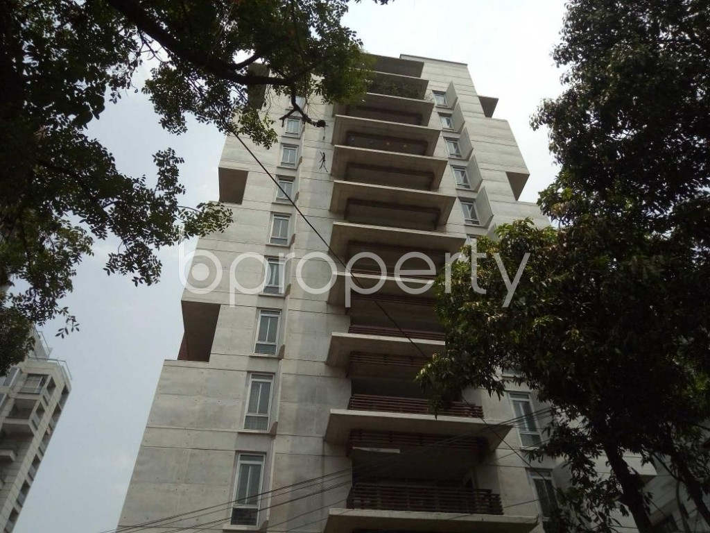 Front view - 4 Bed Apartment to Rent in Gulshan, Dhaka - 1887233