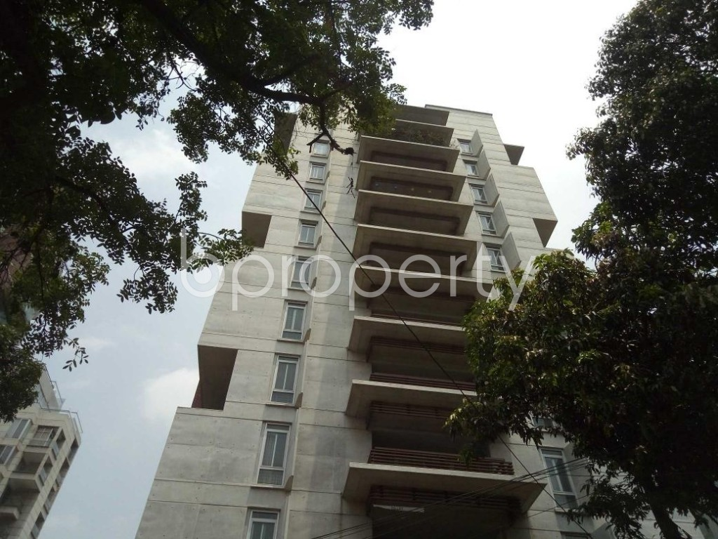 Front view - 4 Bed Apartment to Rent in Gulshan, Dhaka - 1887235