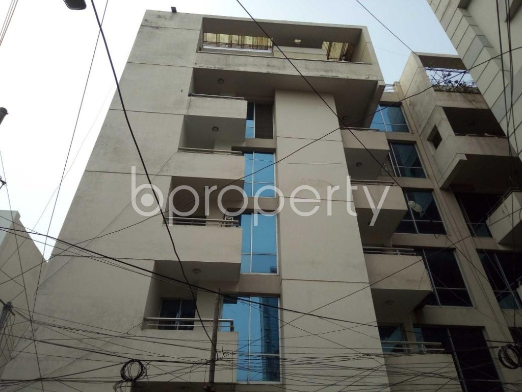 Front view - 3 Bed Apartment to Rent in Banani, Dhaka - 1887492
