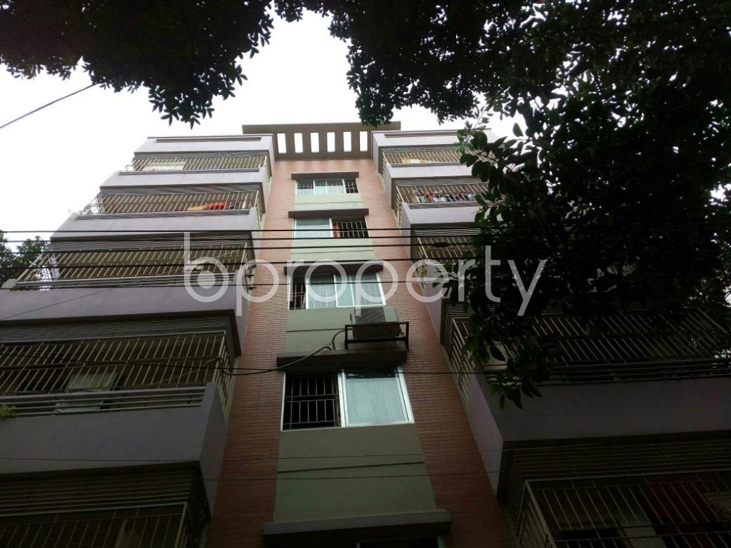 Front view - 3 Bed Apartment for Sale in Mirpur, Dhaka - 1887548
