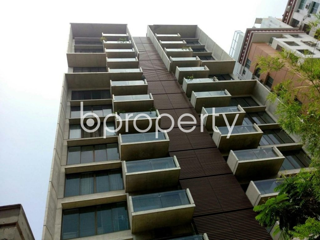 Outside view - 4 Bed Apartment to Rent in Gulshan, Dhaka - 1887815