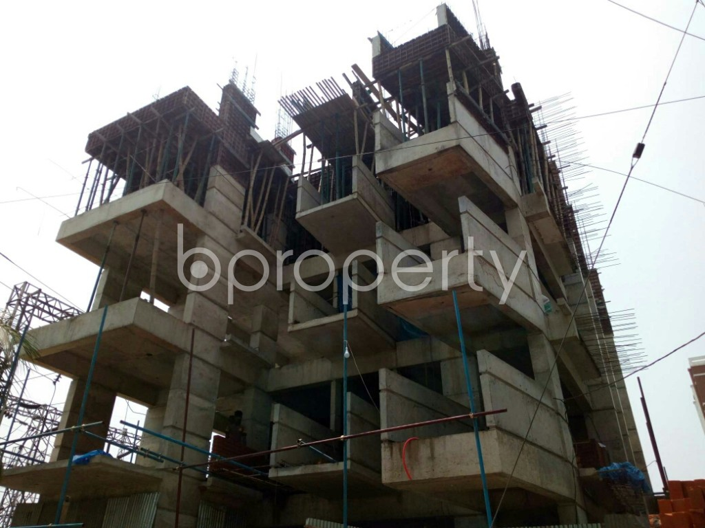 Outside view - 3 Bed Apartment for Sale in Bashundhara R-A, Dhaka - 1888052