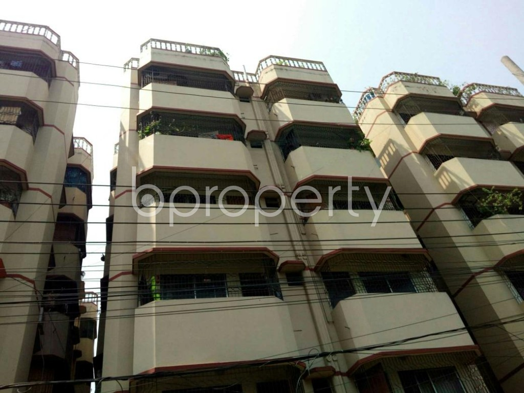 Front view - 3 Bed Apartment for Sale in Double Mooring, Chattogram - 1888087