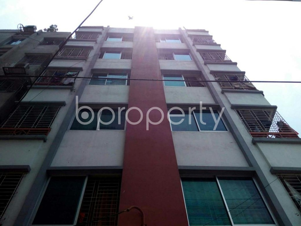 Front view - 2 Bed Apartment for Sale in Mirpur, Dhaka - 1888094