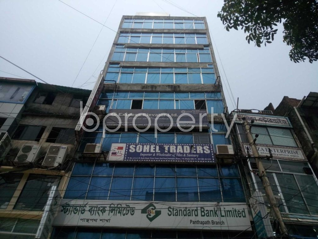 Front view - Shop to Rent in Hatirpool, Dhaka - 1888272