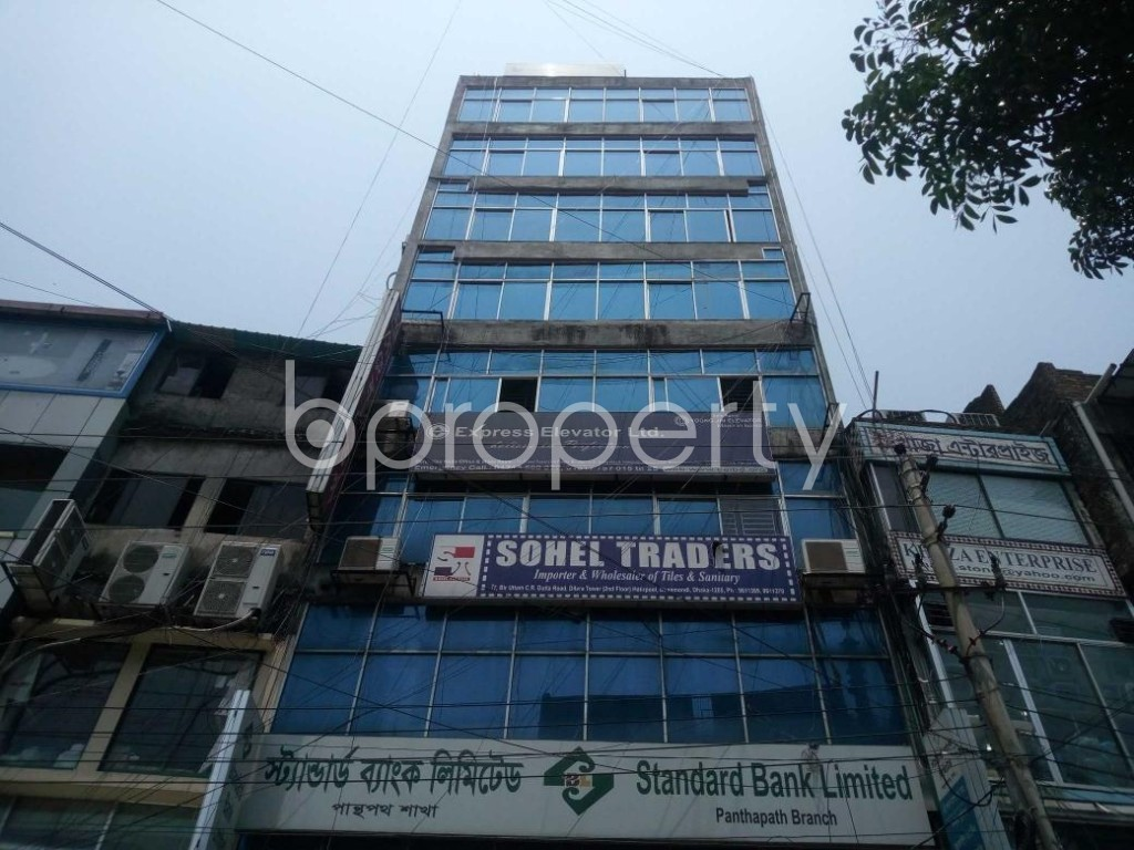 Front view - Shop to Rent in Hatirpool, Dhaka - 1888273