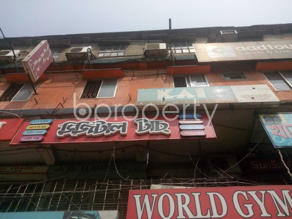 Front view - Shop to Rent in Kakrail, Dhaka - 1888424