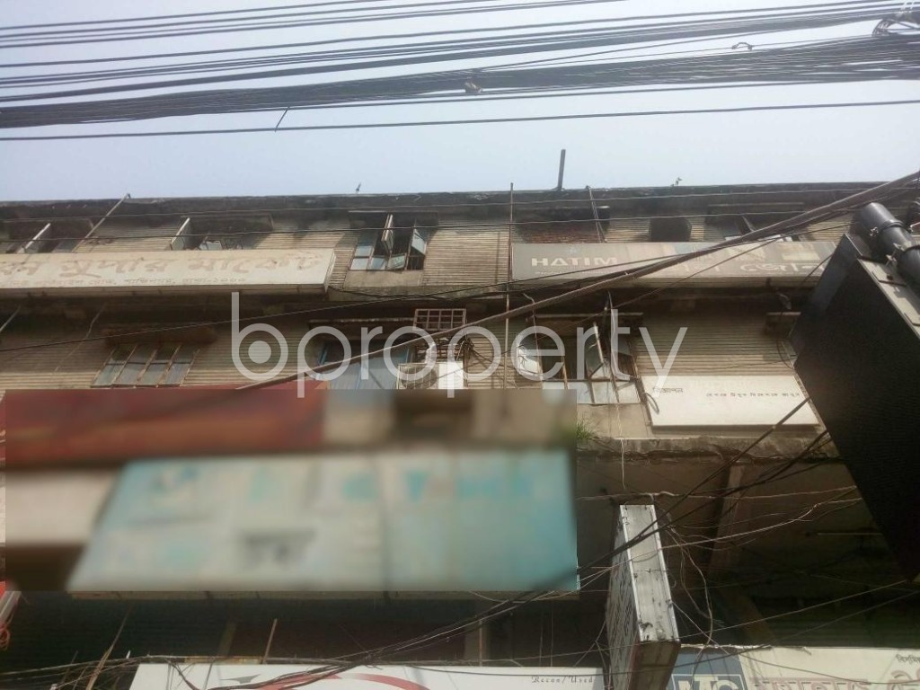 Front view - Shop to Rent in Kakrail, Dhaka - 1888425