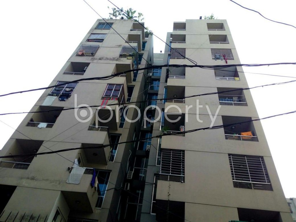 Front view - 3 Bed Apartment for Sale in Dhanmondi, Dhaka - 1888452