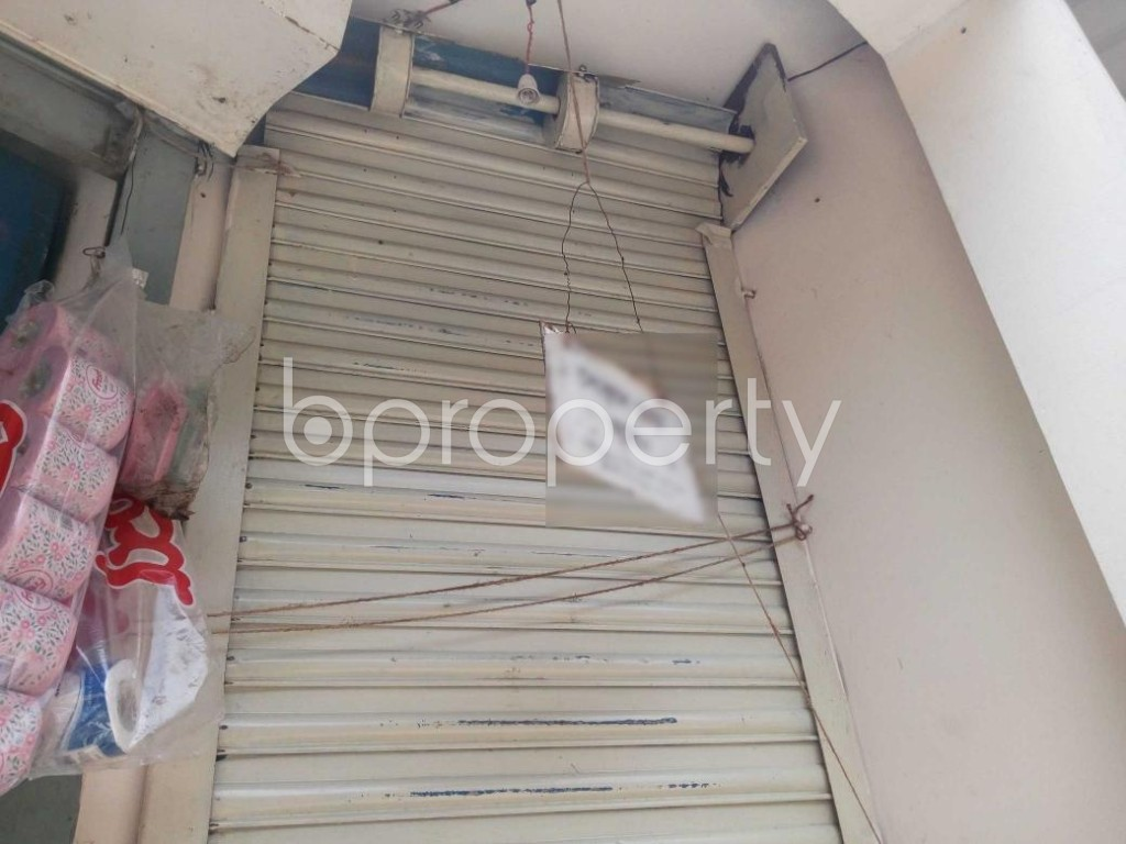 Front view - Shop to Rent in Kuril , Dhaka - 1888607
