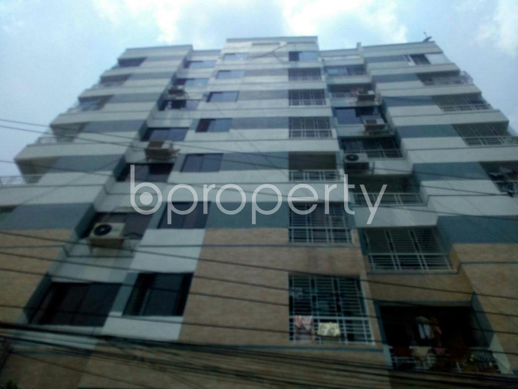 Front view - 3 Bed Apartment for Sale in Badda, Dhaka - 1888624