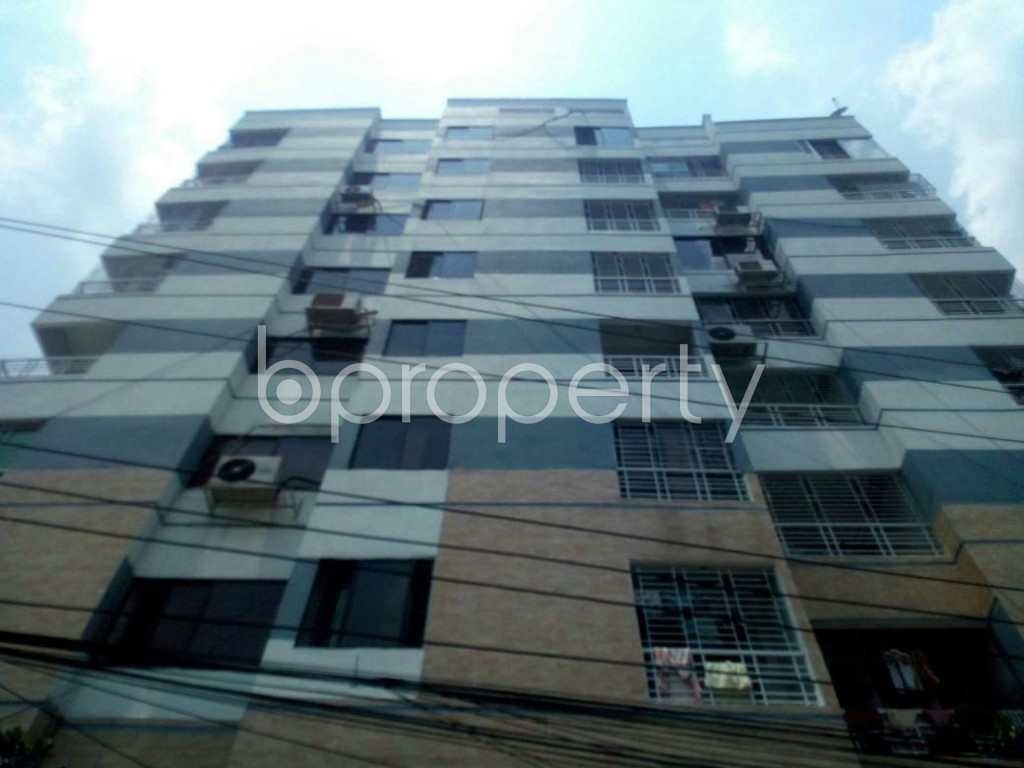 Front view - 3 Bed Apartment for Sale in Badda, Dhaka - 1888619