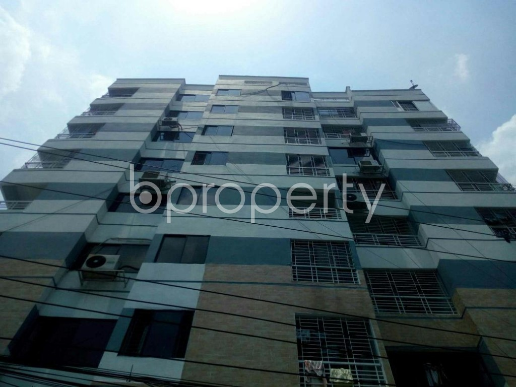Front view - 3 Bed Apartment for Sale in Badda, Dhaka - 1888622