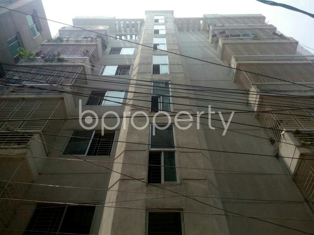 Front view - 3 Bed Apartment for Sale in Dakshin Khan, Dhaka - 1888644