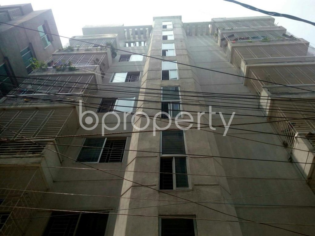 Front view - 3 Bed Apartment for Sale in Dakshin Khan, Dhaka - 1888649