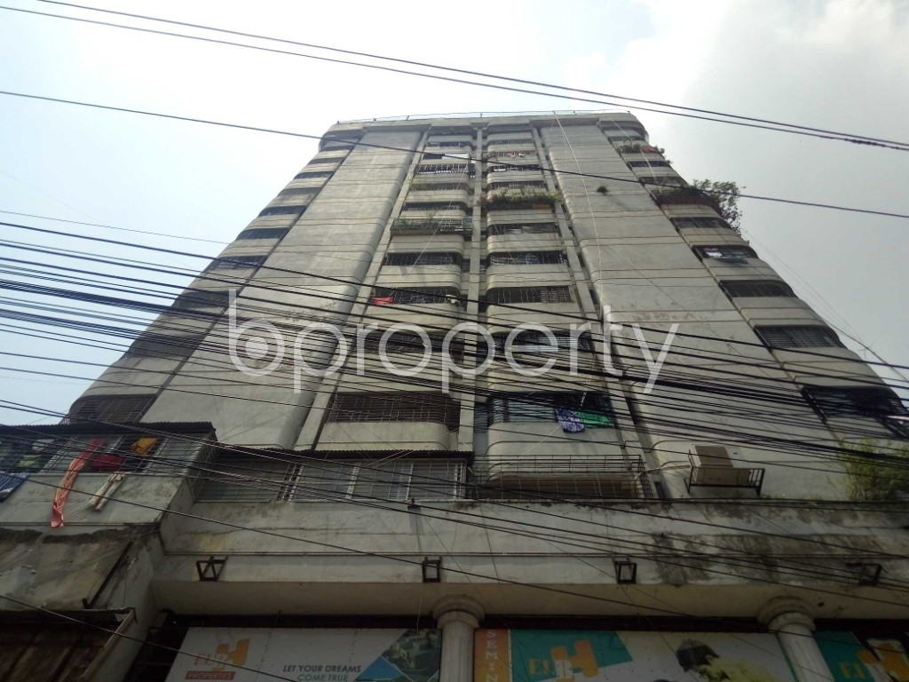 Outside view - 3 Bed Apartment for Sale in Maghbazar, Dhaka - 1888653