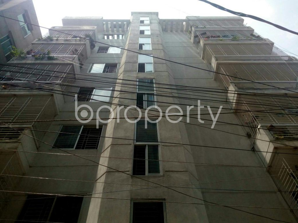 Front view - 2 Bed Apartment for Sale in Dakshin Khan, Dhaka - 1888652