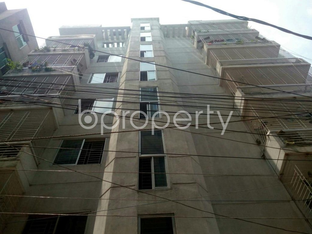 Front view - 3 Bed Apartment for Sale in Dakshin Khan, Dhaka - 1888654