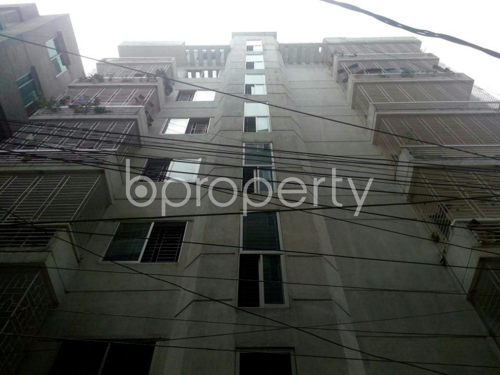 Front view - 3 Bed Apartment for Sale in Dakshin Khan, Dhaka - 1888656