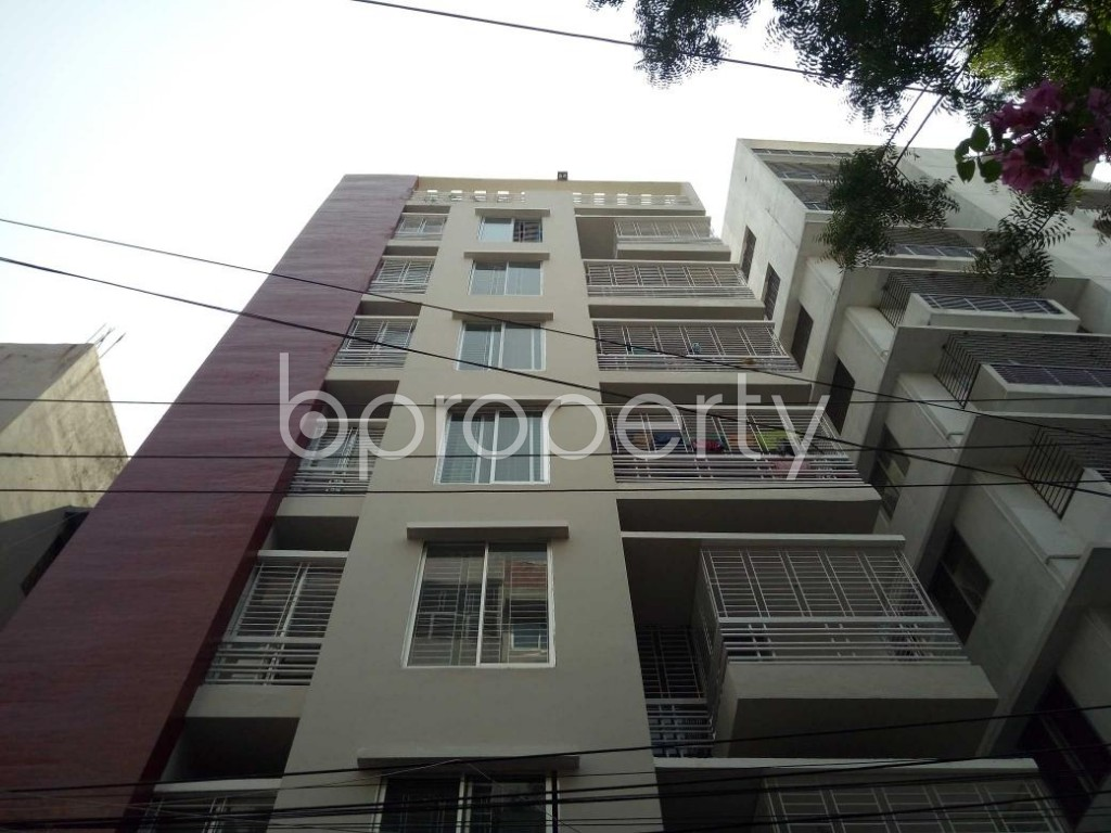 Front view - 3 Bed Apartment for Sale in Shyamoli, Dhaka - 1888735