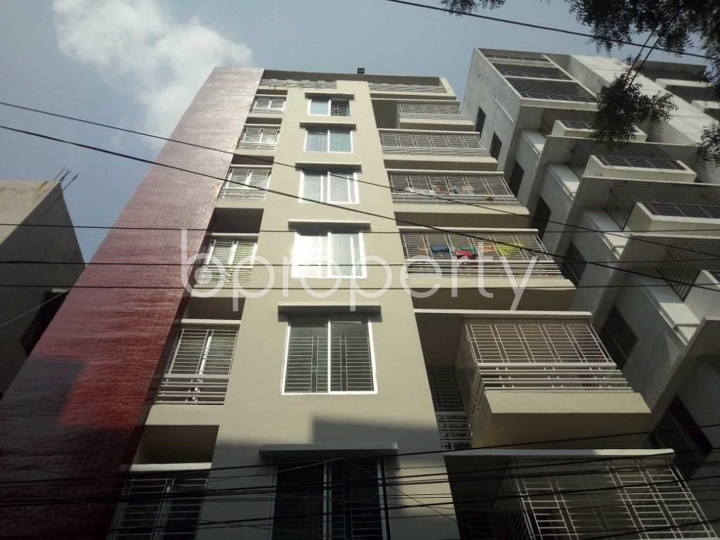 Front view - 3 Bed Apartment for Sale in Shyamoli, Dhaka - 1888765