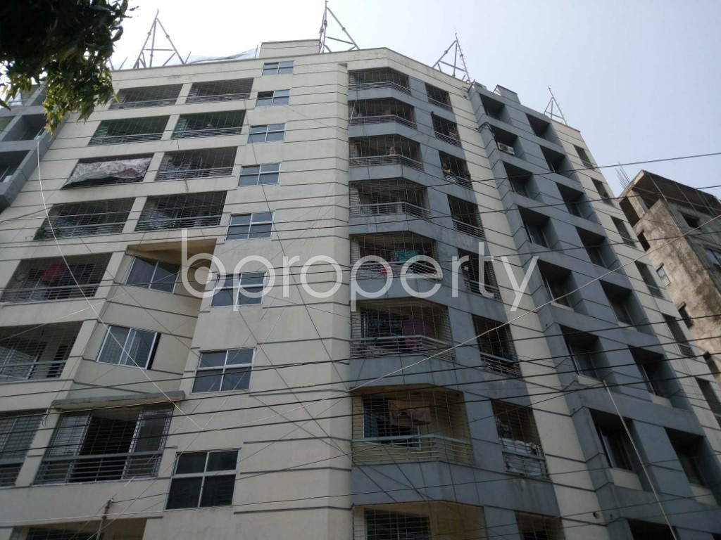 Front view - 3 Bed Apartment to Rent in Mirpur, Dhaka - 1888864