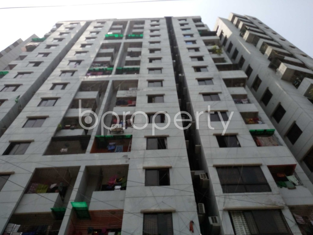 Front view - 3 Bed Apartment to Rent in Mirpur, Dhaka - 1888868
