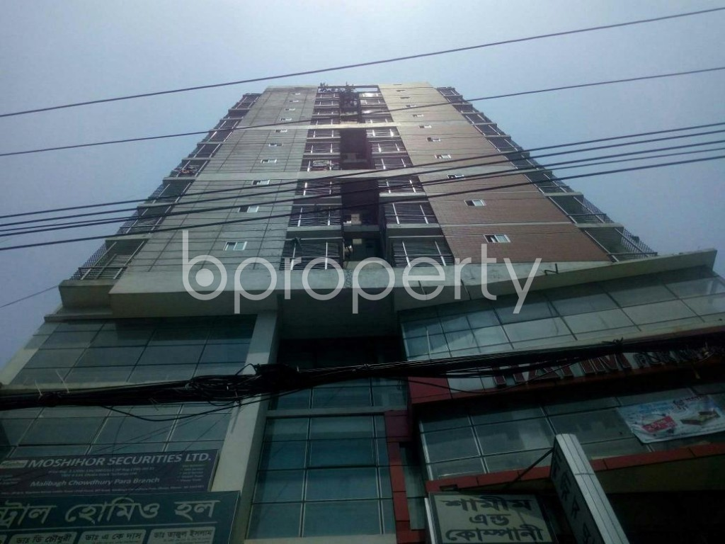 Front view - Shop to Rent in Malibagh, Dhaka - 1888893