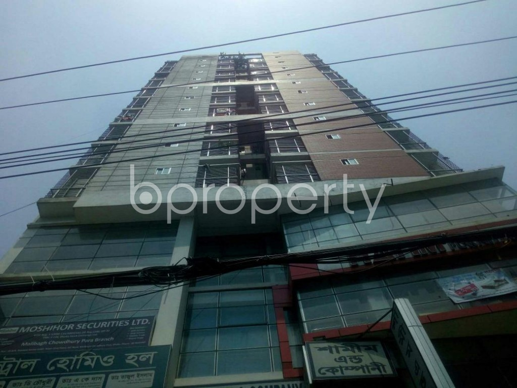 Front view - Shop to Rent in Malibagh, Dhaka - 1888894