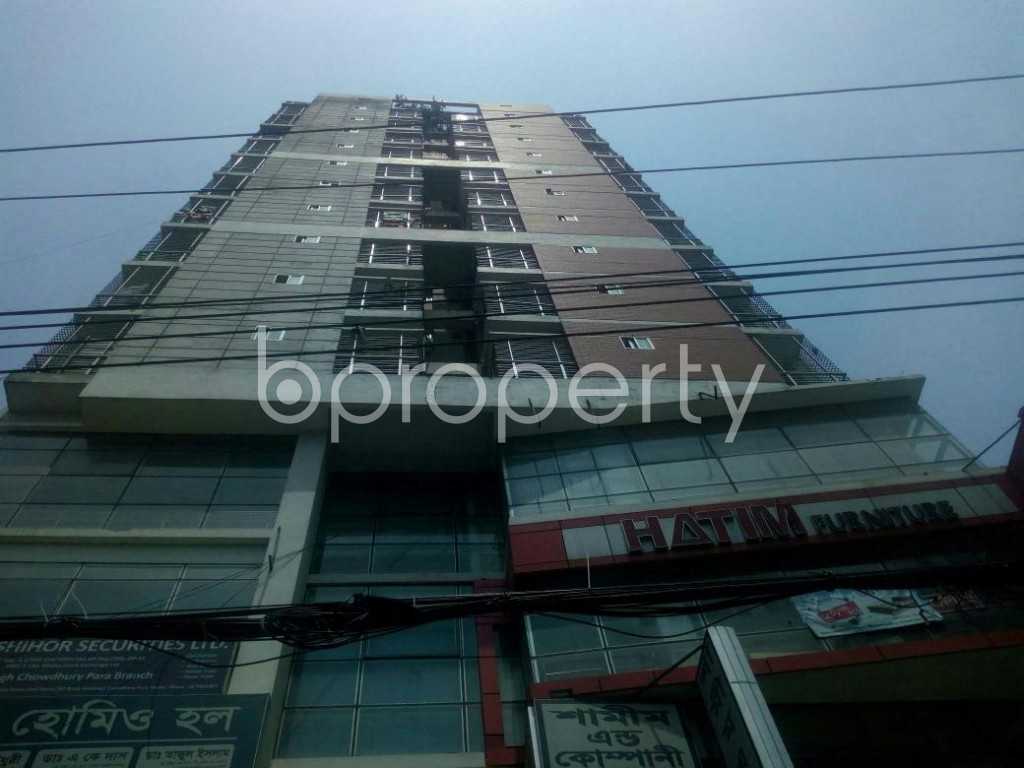 Front view - Shop to Rent in Malibagh, Dhaka - 1888896