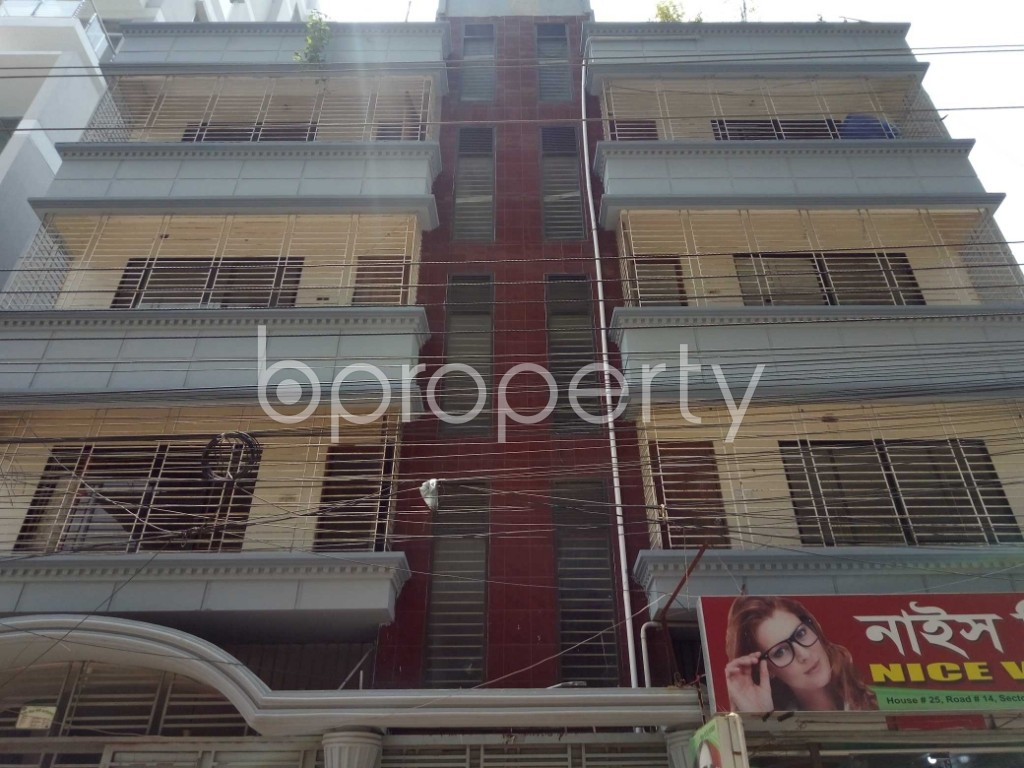 Front view - Office to Rent in Uttara, Dhaka - 1888945