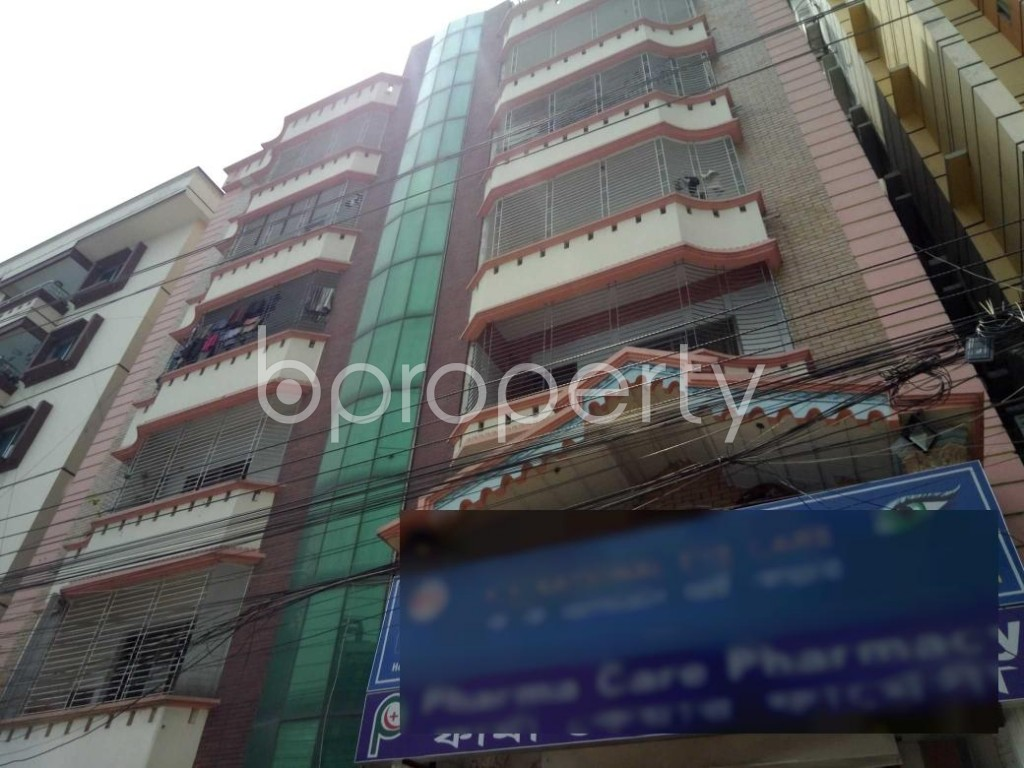 Outside view - Office to Rent in Uttara, Dhaka - 1888948