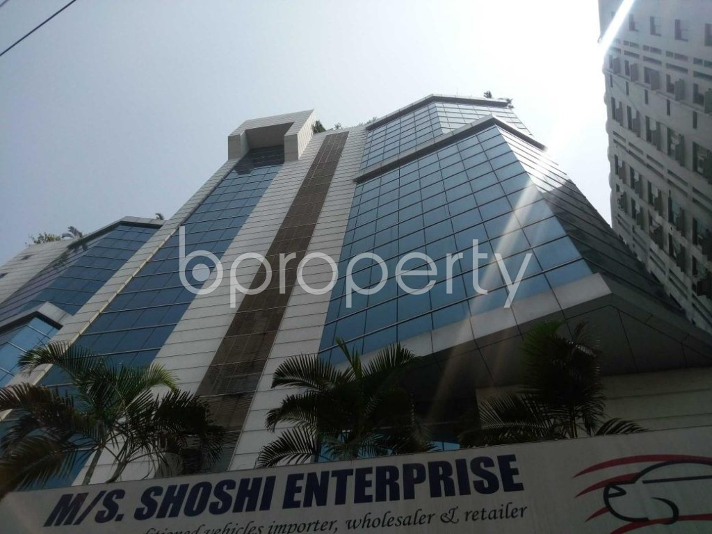 Front view - Office to Rent in Shantinagar, Dhaka - 1888989