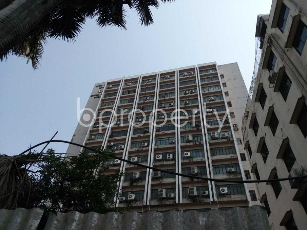Front view - Office to Rent in Shantinagar, Dhaka - 1888992
