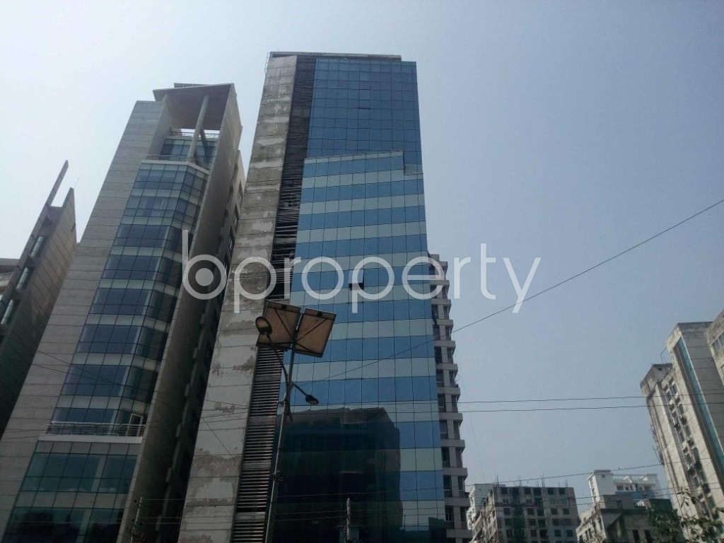 Front view - Office to Rent in Kakrail, Dhaka - 1889004
