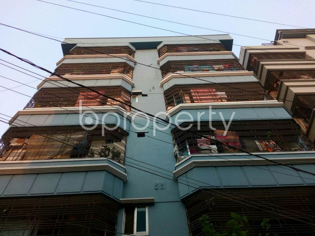 Front view - 3 Bed Apartment to Rent in Mirpur, Dhaka - 1889009